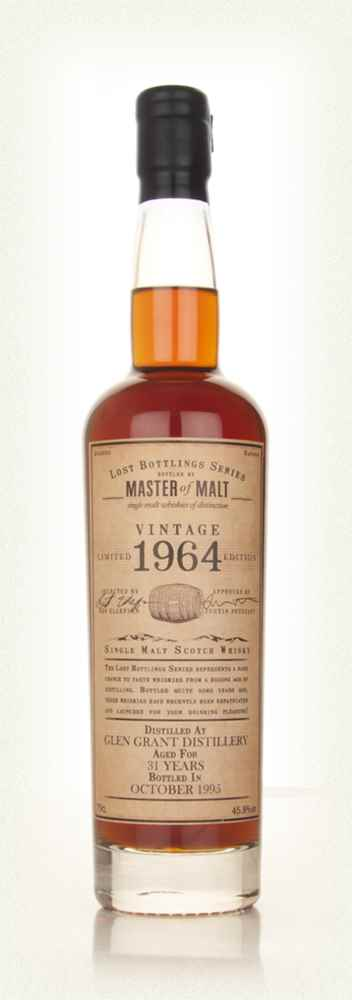 Glen Grant 31 Year Old 1964 - Lost Bottlings Series (Master of Malt)