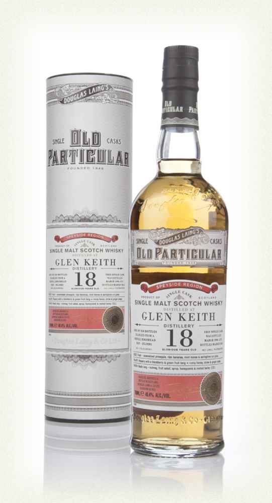 Glen Keith 18 Year Old 1996 (cask 10281) - Old Particular (Douglas Laing)