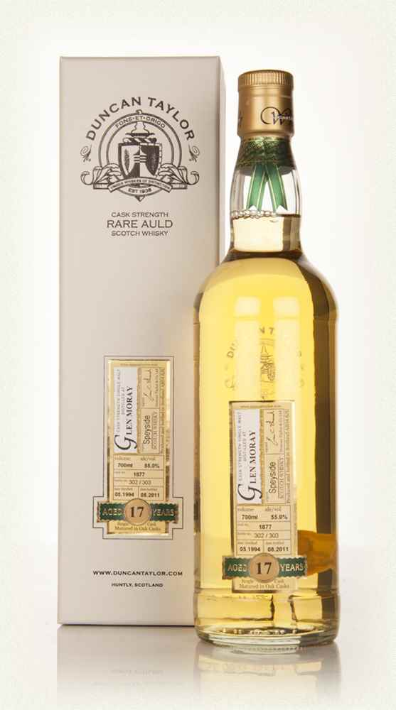Glen Moray 17 Year Old 1994 - Rare Auld (Duncan Taylor)
