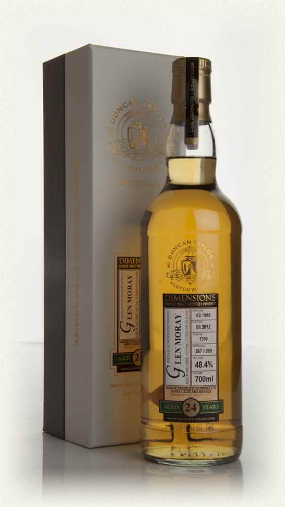 Glen Moray 24 Year Old 1988 - Dimensions (Duncan Taylor)