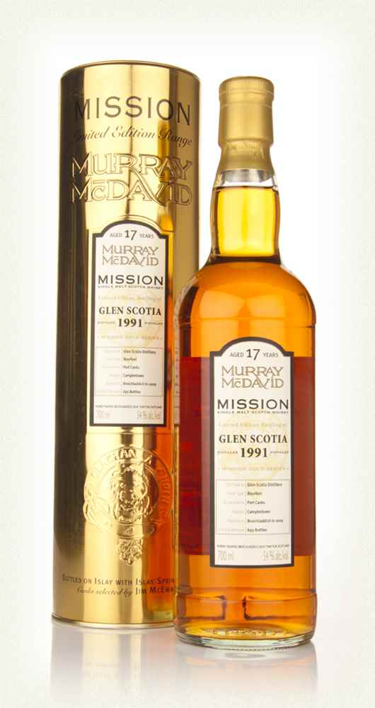 Glen Scotia 17 Year Old 1991 - Mission (Murray McDavid)