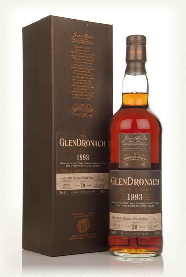 GlenDronach 20 Year Old 1993 (cask 5) - Batch 9