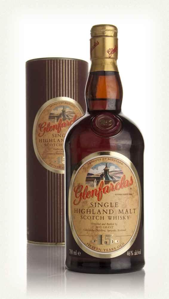 Glenfarclas 15 Year Old (Old Bottle)