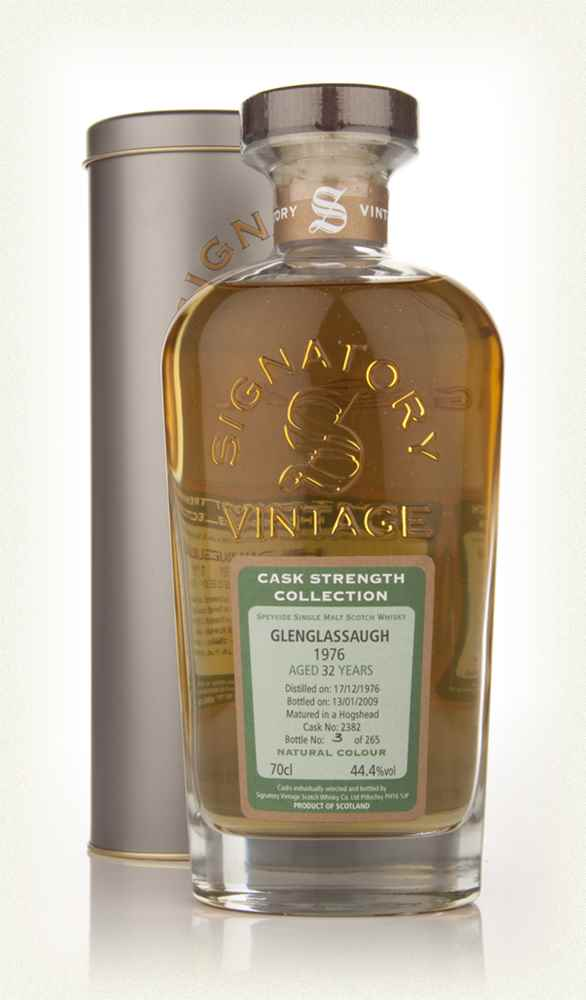 Glenglassaugh 32 Year Old 1976 - Cask Strength Collection (Signatory)