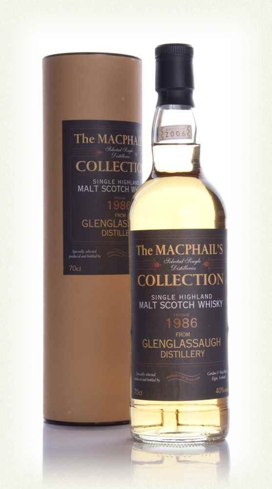 Glenglassaugh 1986 - The MacPhail's Collection (Gordon and MacPhail)