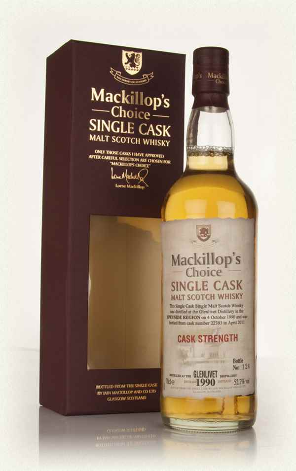 Glenlivet 20 Year Old 1990 (cask 22393) - Mackillop's Choice