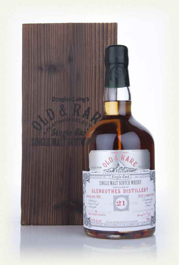 Glenrothes 21 Year Old 1990 - Old & Rare (Douglas Laing)
