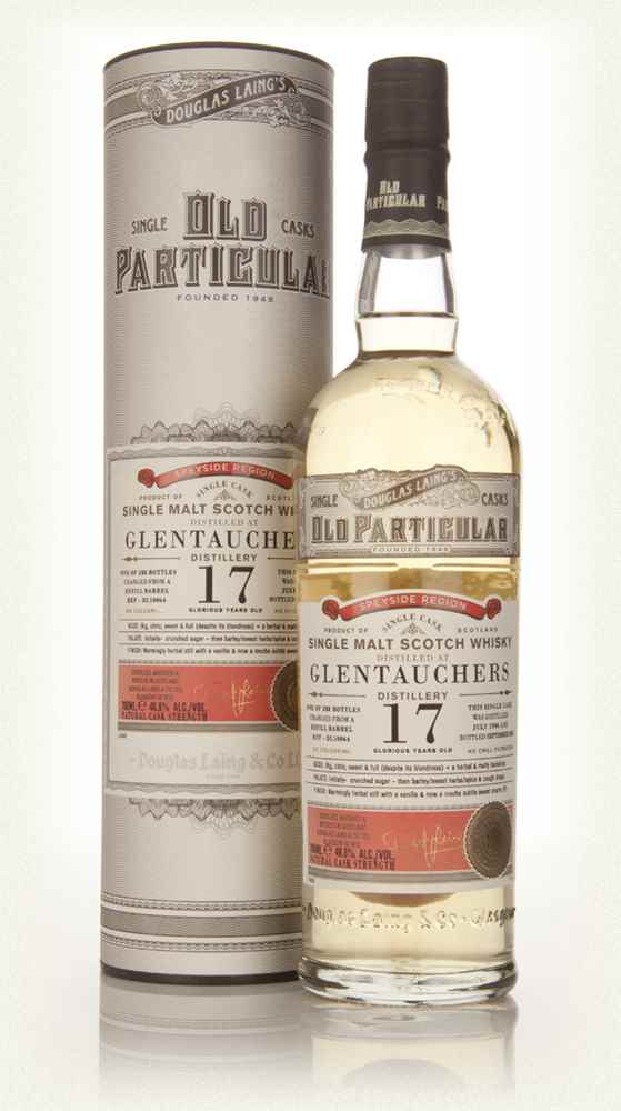 Glentauchers 17 Year Old 1996 (cask 10064) - Old Particular (Douglas Laing)