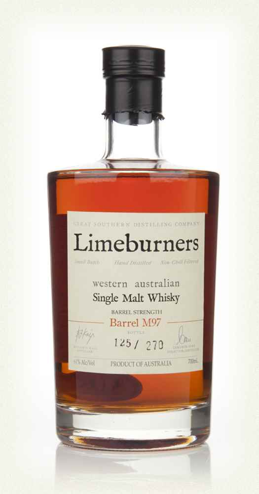 Limeburners Single Malt Whisky (cask M97)