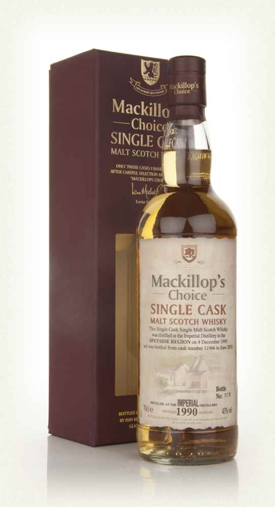 Imperial 19 Year Old 1990 (cask 11966) - Mackillop's Choice