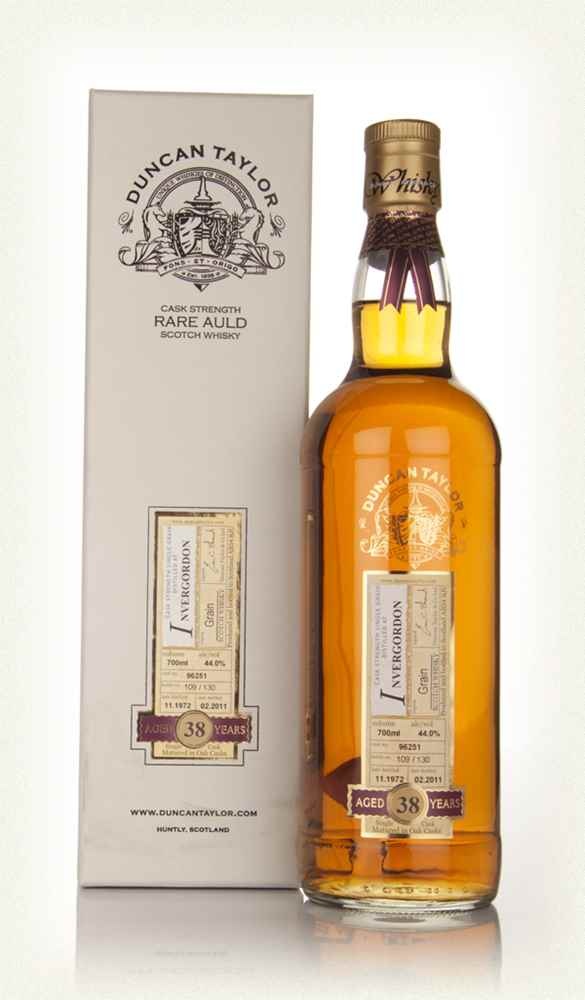 Invergordon 38 Year Old 1972 Cask 96251 - Rare Auld (Duncan Taylor)