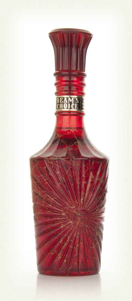 Jim Beam 8 Red Decanter - 1960s