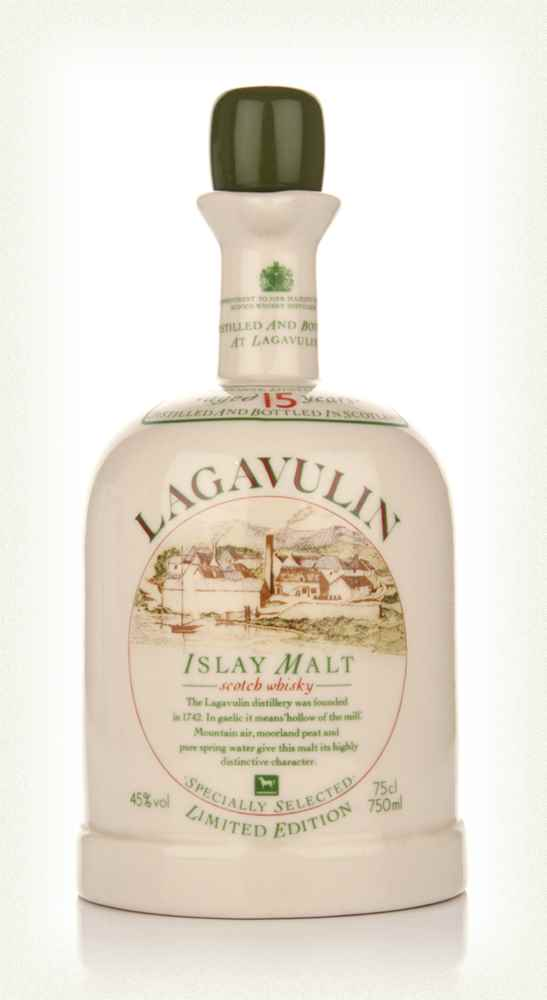 Lagavulin 15 Year Old - 1980s Bottling (White Horse Distillers)