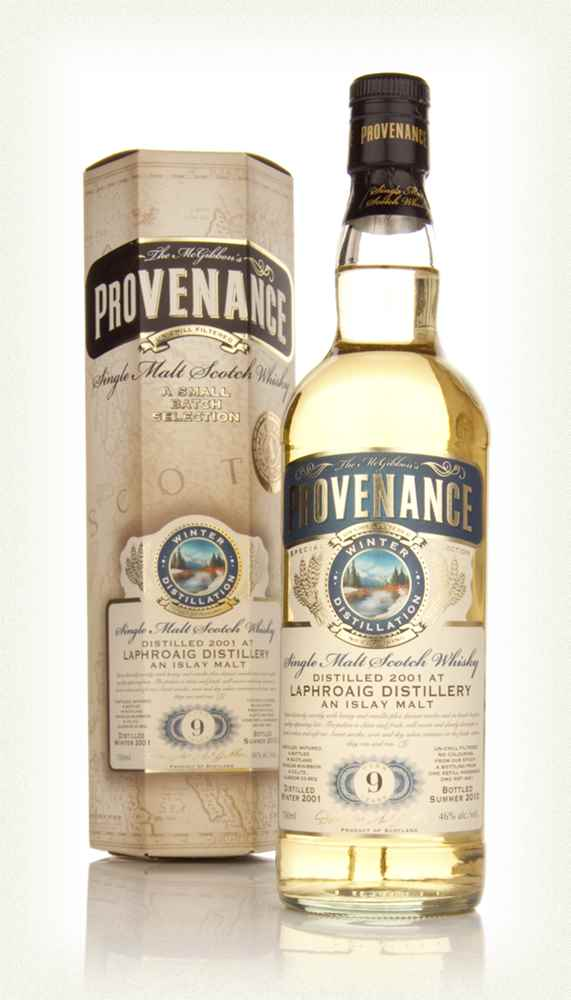 Laphroaig 9 Year Old 2001 - Provenance (Douglas Laing)