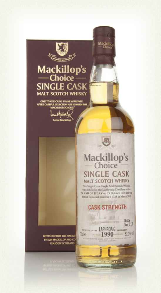 Laphroaig 21 Year Old 1990 (cask 11728) - Mackillop's Choice