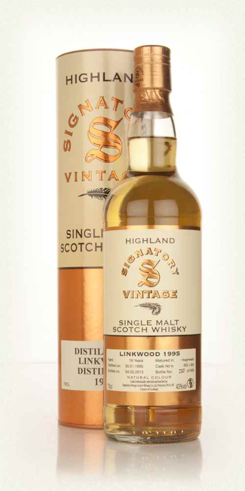 Linkwood 18 Year Old 1995 (casks 652+653) (Signatory)