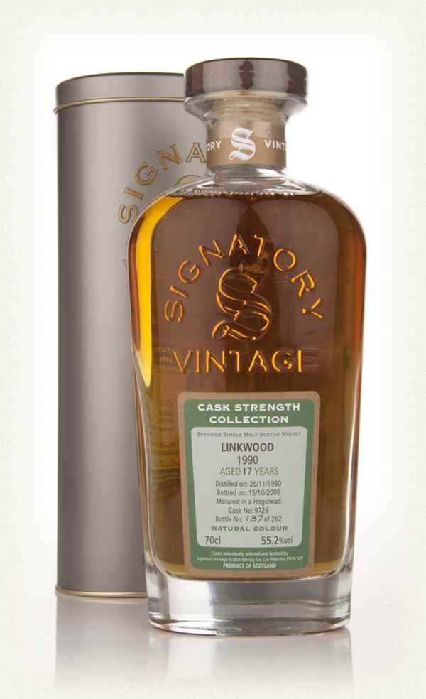 Linkwood 17 Year Old 1990 - Cask Strength Collection (Signatory)