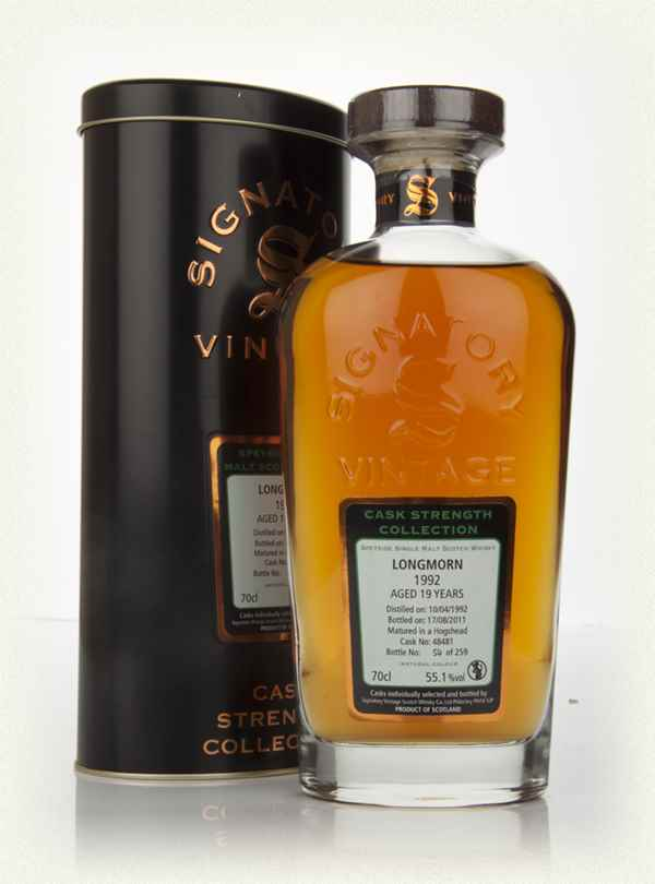 Longmorn 19 Year Old 1992 - Cask Strength Collection ( Signatory)