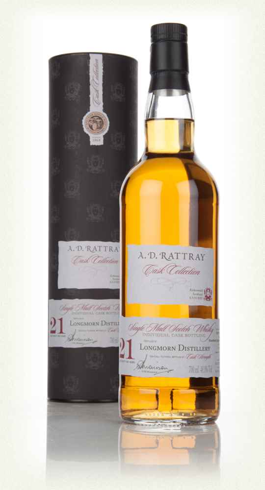 Longmorn 21 Year Old 1992 (cask 110987) - Cask Collection (A.D. Rattray)