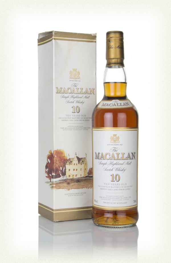 The Macallan 10 Year Old (Old Label)