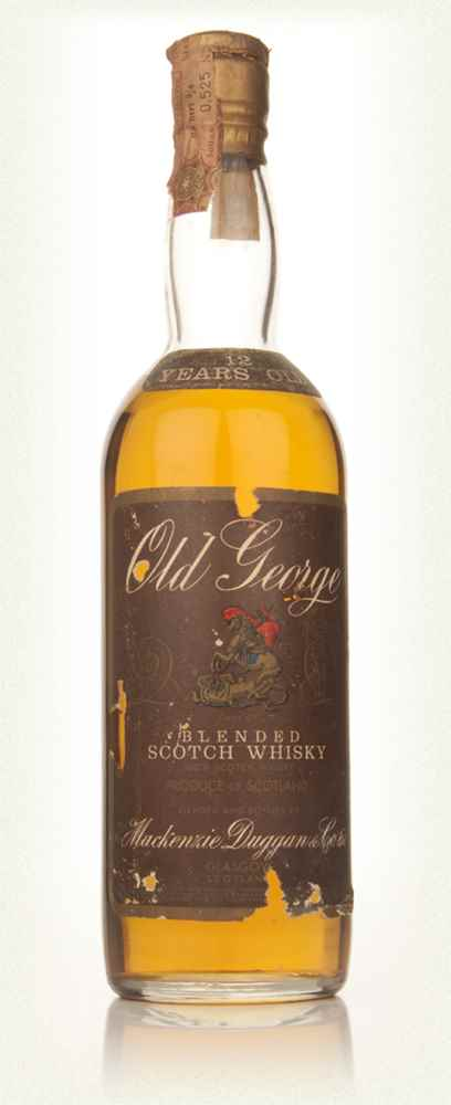 Old George 12 Year Old Blended Scotch Whisky - 1960s