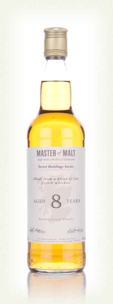 Master of Malt 8 Year Old Blended Whisky