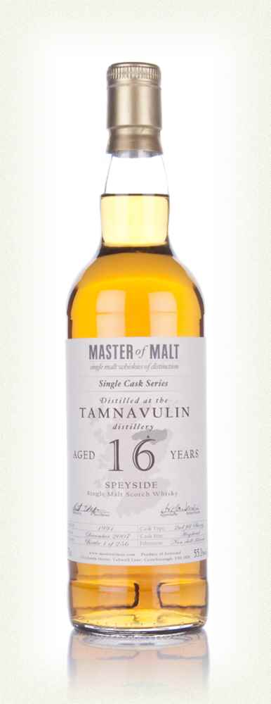 Tamnavulin 16 Year Old - Single Cask (Master of Malt)