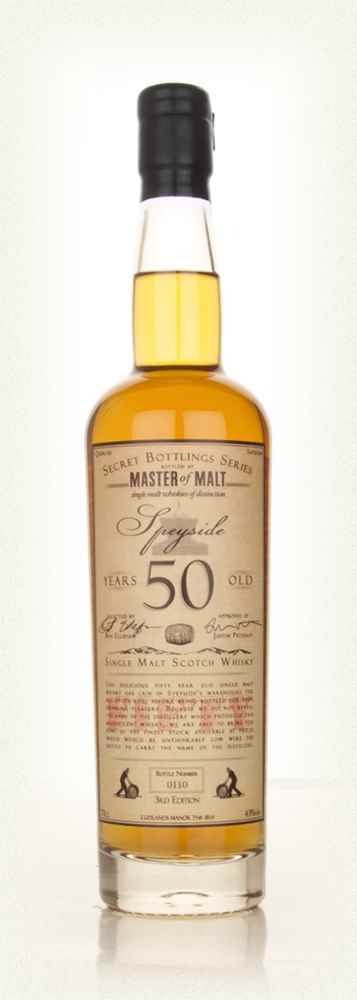 Master of Malt 50 Year Old Speyside (3rd Edition)