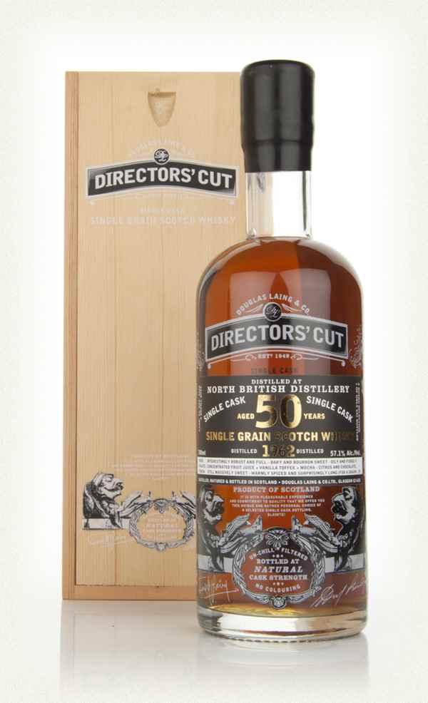 North British 50 Year Old 1962 (cask 8228) - Directors' Cut (Douglas Laing)