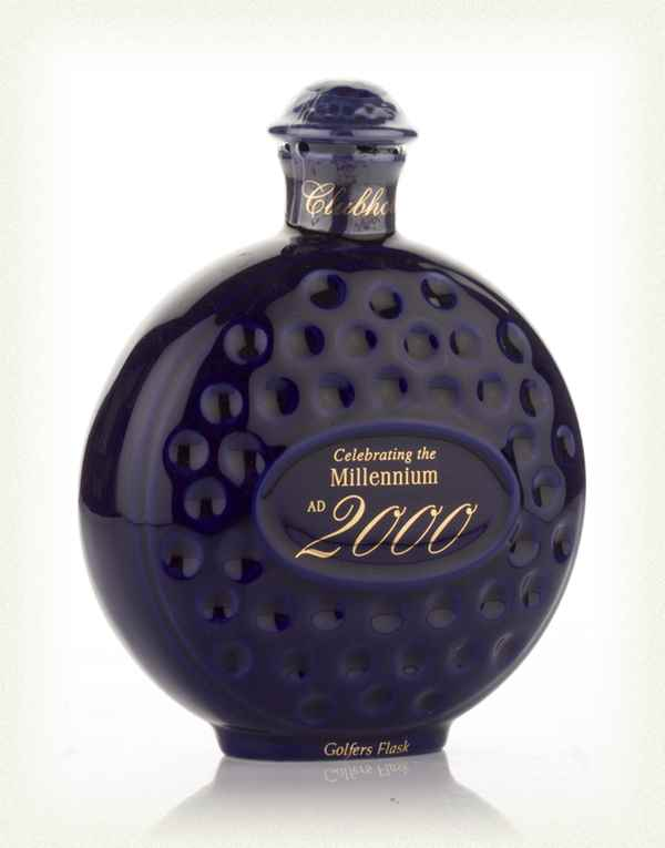 Old St Andrews Clubhouse Millennium Ceramic Golf Flask