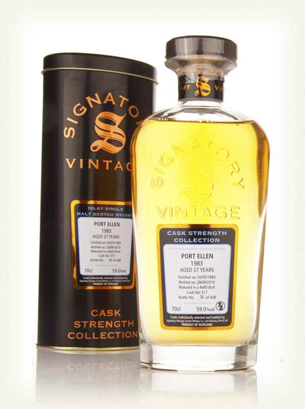 Port Ellen 27 Year Old 1983 Cask 517 - Cask Strength Collection (Signatory)
