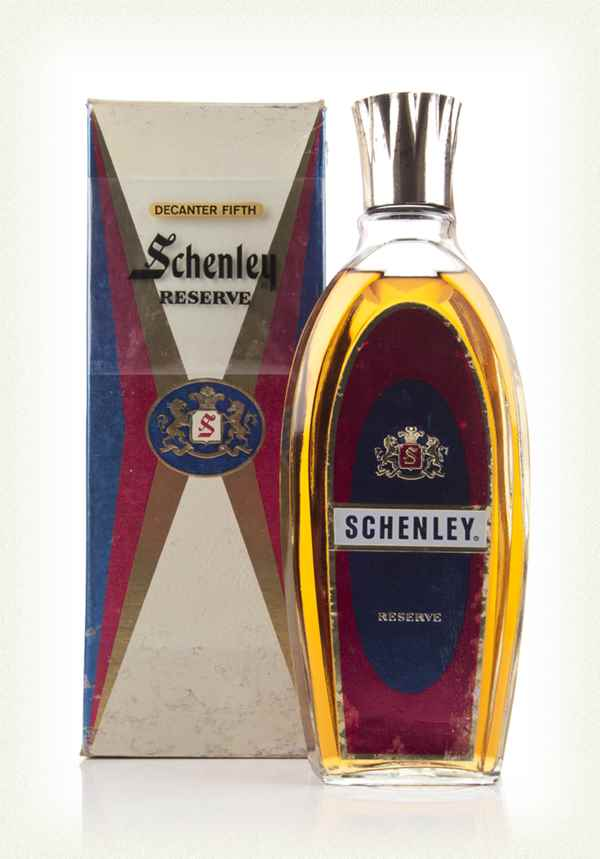 Schenley Reserve Blended American Whiskey - 1960s