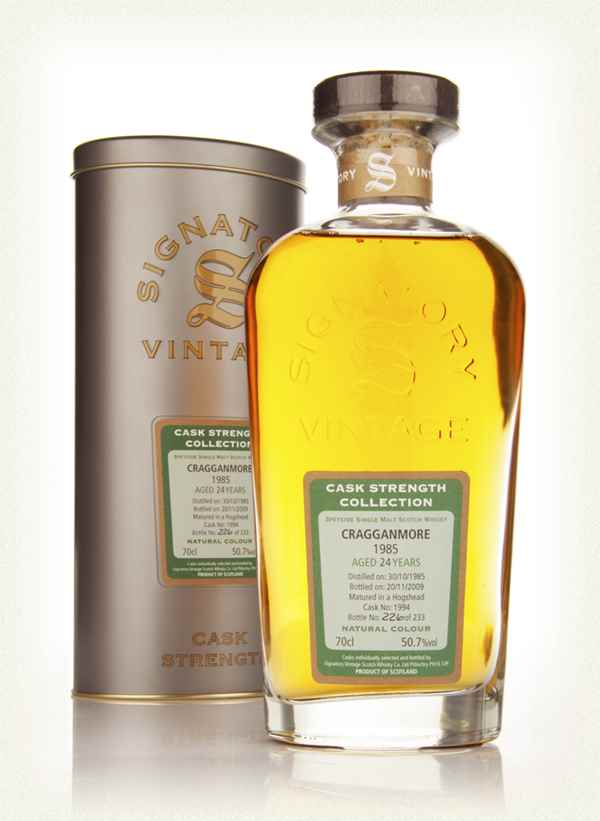 Cragganmore 24 Year Old 1985 - Cask Strength Collection (Signatory)
