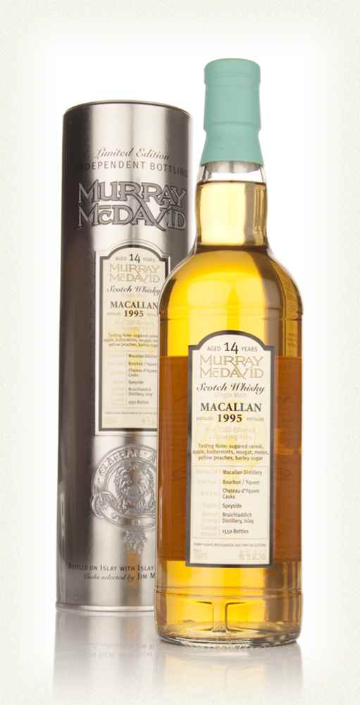 Macallan 14 Year Old 1995 (Murray McDavid)