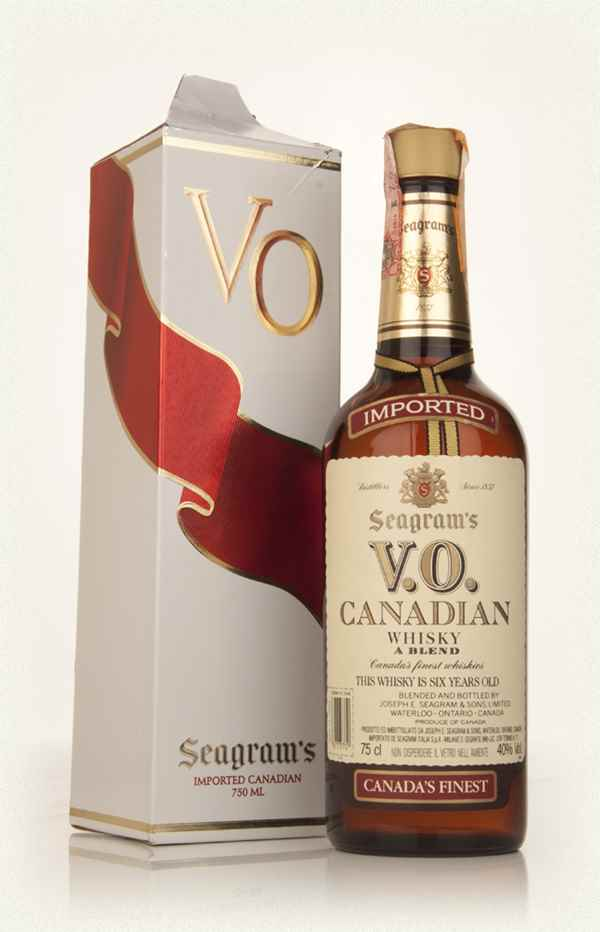 Seagram's V.O. 6 Year Old Canadian Whisky - 1980s