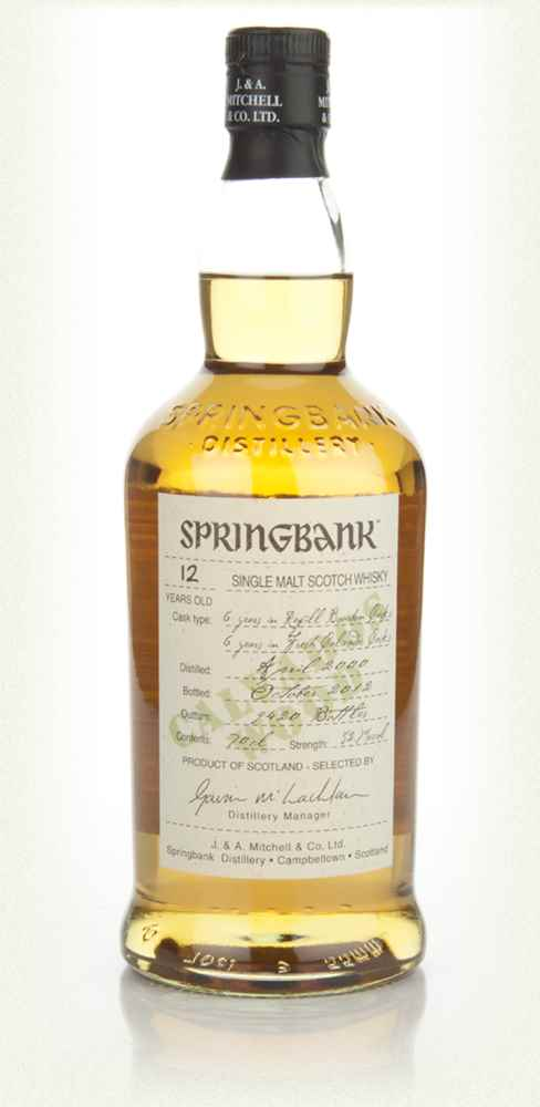 Springbank 12 Year Old Calvados Wood Finish