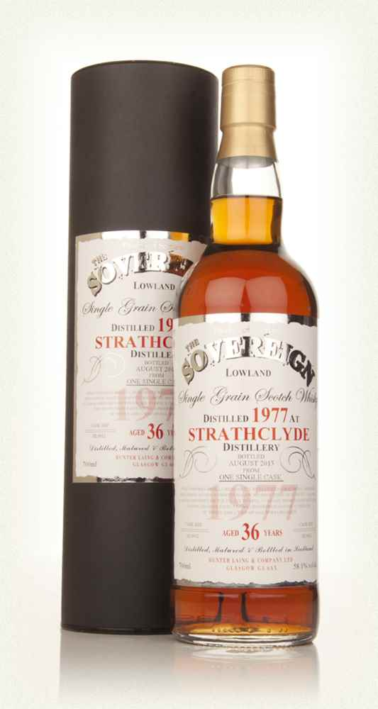 Strathclyde 36 Year Old 1977 (cask 9912) - The Sovereign (Hunter Laing)