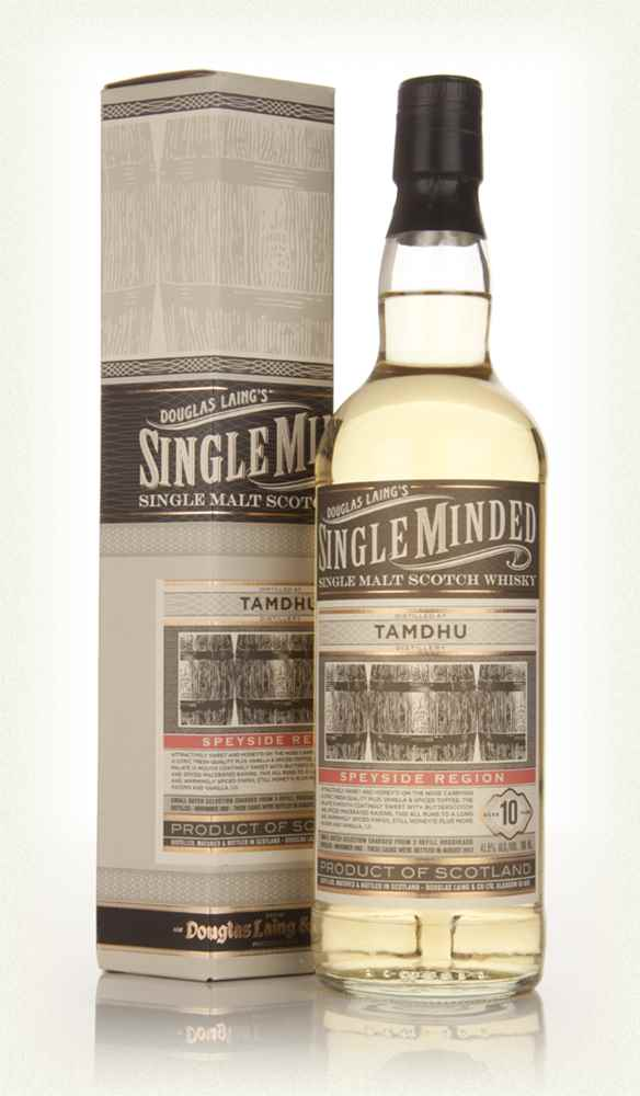 Tamdhu 10 Year Old 2002 - Single Minded (Douglas Laing)