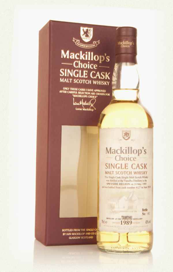 Tamdhu 21 Year Old 1989 (cask 4127) - Mackillop's Choice