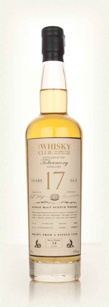 Tobermory 17 Year Old 1995 (The Whisky Club)