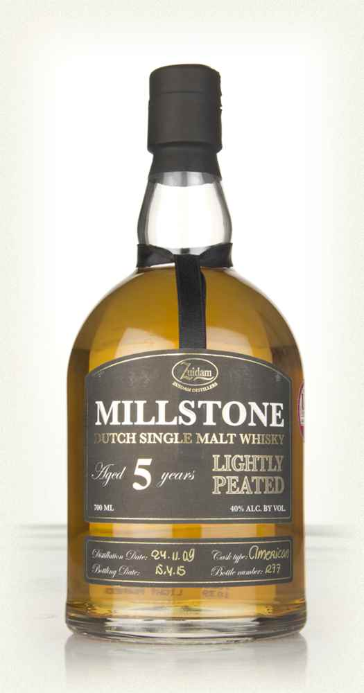 Millstone 5 Year Old Lightly Peated Dutch Single Malt Whisky
