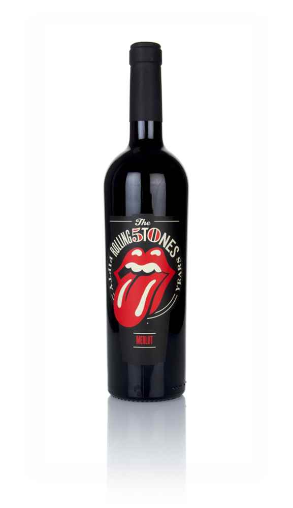 Wines that Rock - Rolling Stones - Forty Licks 2018 Merlot
