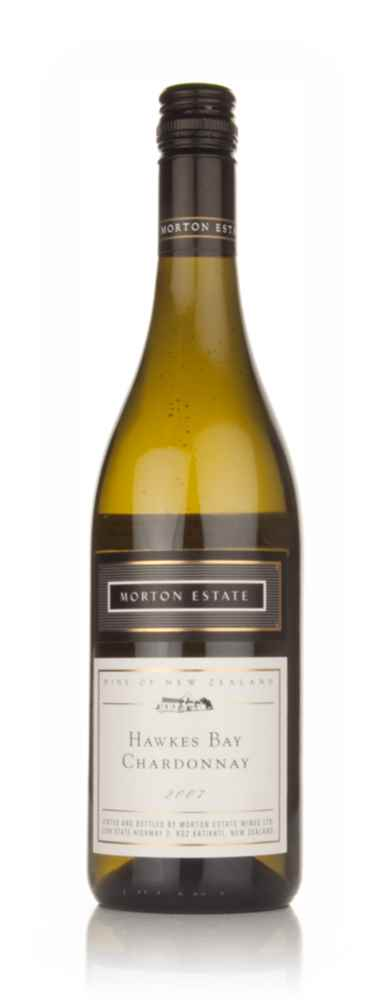 Morton Estate 2007 Hawkes Bay Chardonnay White Label