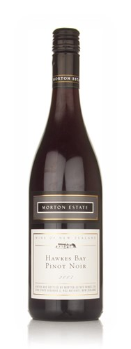 Morton Estate White Label Hawkes Bay Pinot Noir 2007