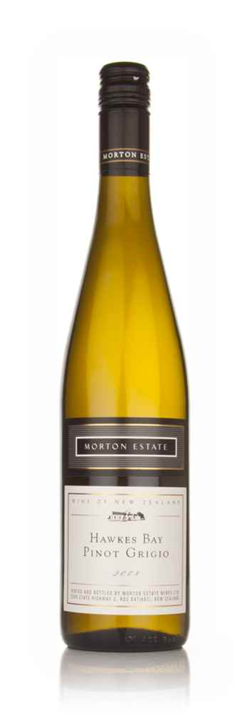 Morton Estate White Label Hawkes Bay Pinot Grigio 2008
