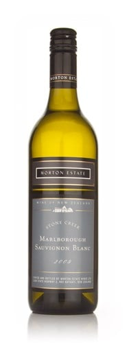 Morton Estate Stone Creek Sauvignon Blanc 2009