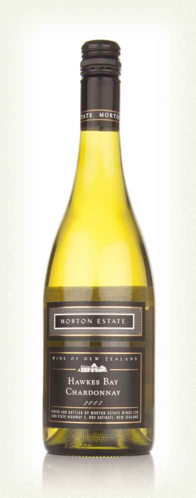 Morton Estate Black Label Hawkes Bay Chardonnay 2007