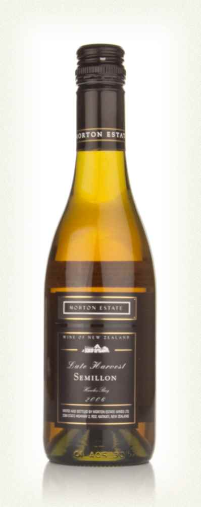 Morton Estate Black Label Late Harvest Semillon 2006