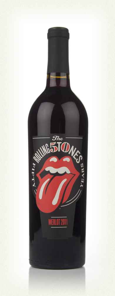 Wines That Rock - Rolling Stones - Forty Licks 2011 Merlot